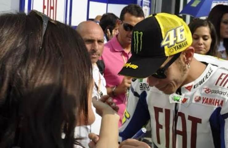 Pedrotti e Valentino Rossi