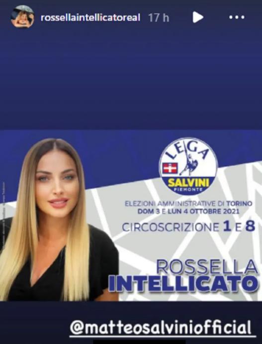 Rossella Intellicato scende politica Lega Torino