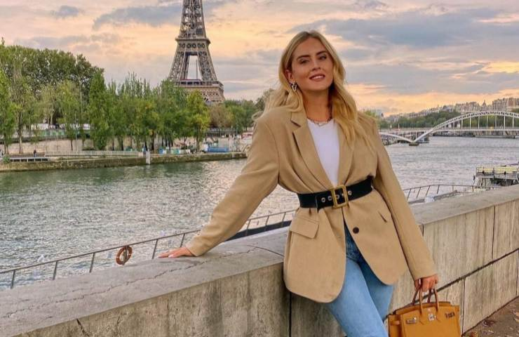 Valentina Ferragni Parigi Fashion Week