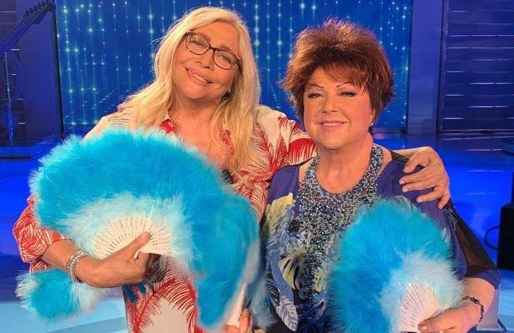 Mara Venier e Orietta Berti