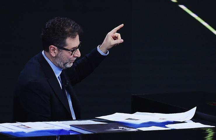 Fabio Fazio distrutto dolore amico