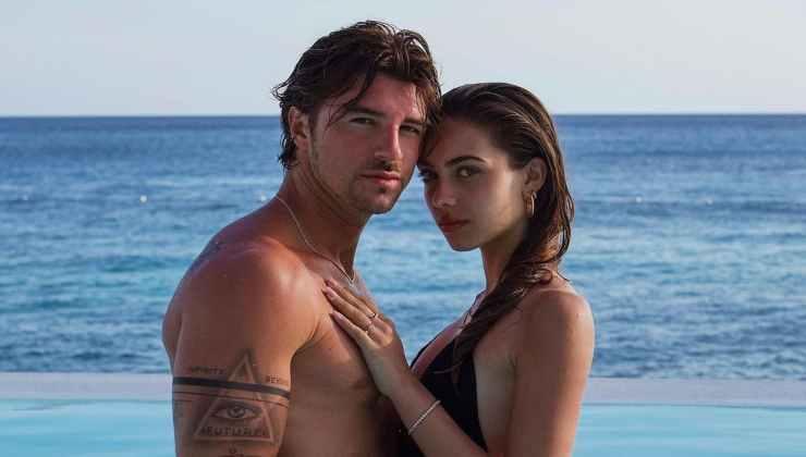 Andrea Damante e Elisa Visari