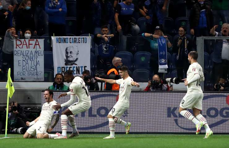 Atalanta-Milan pagelle tabellino