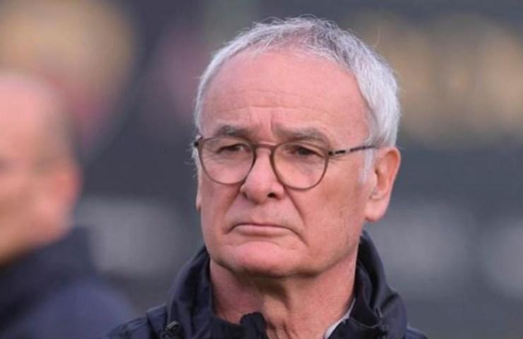 Claudio Ranieri quando sedeva sulla panchina della Roma
