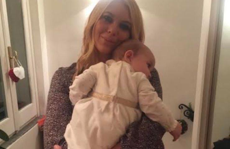 Eleonora Daniele e figlia