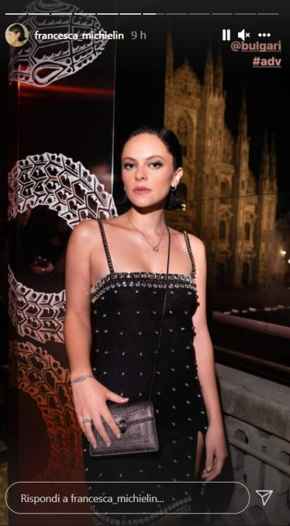 Francesca Michielin lingerie presentazione ultimo singolo foto