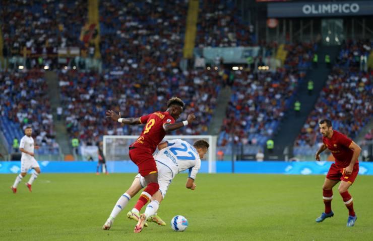 Roma Empoli Serie A