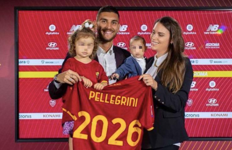 Lorenzo Pellegrini moglie figli stipendio