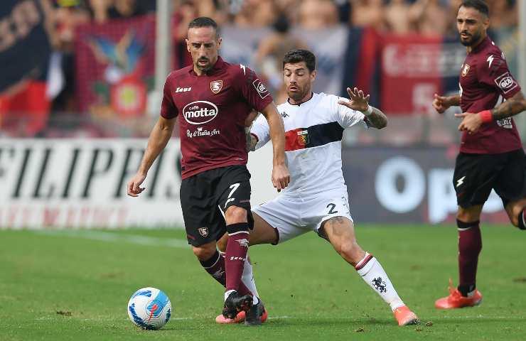 Salernitana-Genoa pagelle tabellino