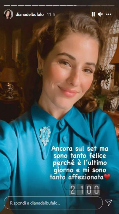 Diana Del Bufalo regalo sorpresa social video